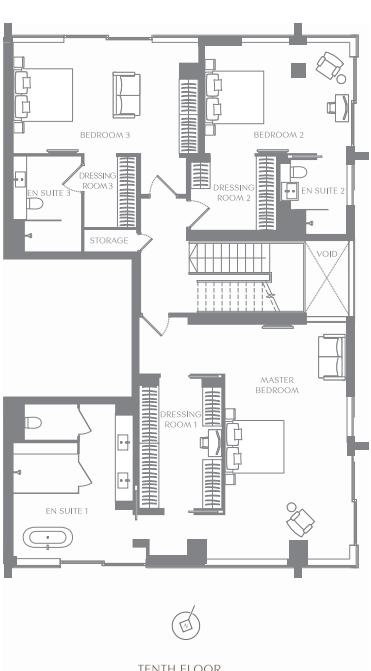 ロンドン・伦敦公寓Landmark Place, London 画像6