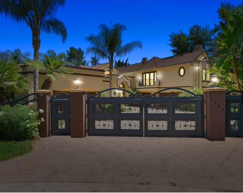 ロサンゼルス別荘・洛杉矶别墅 WHITE OAK Avenue Encino 画像10